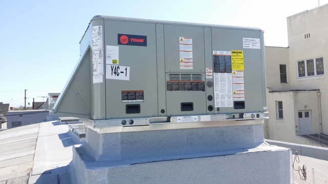 Trane, Package Unit, Rooftop Unit, Air Conditioning, HVAC, 10 Ton, System, Company, Business, Local
